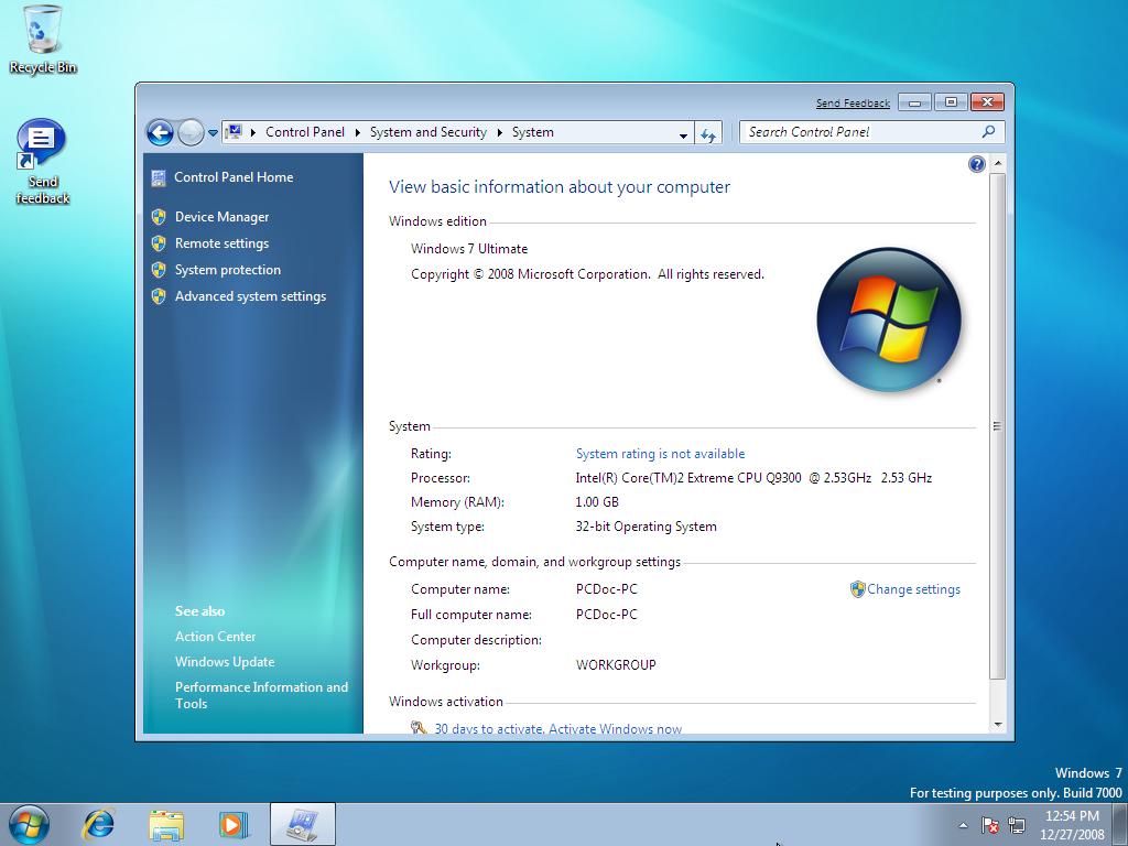 bada operating system info